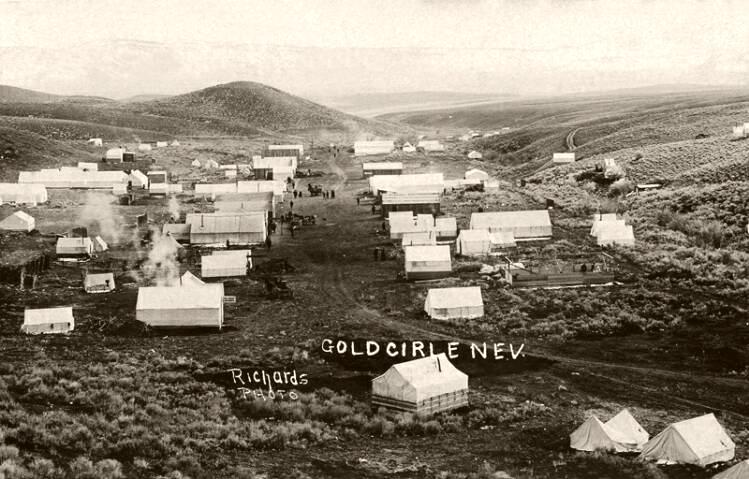 Midas began in 1907 as the mining camp of Gold Circle.